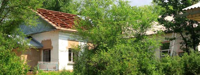 Il progetto un tetto nuovo per la palestra si concluso for Costo della palestra giungla